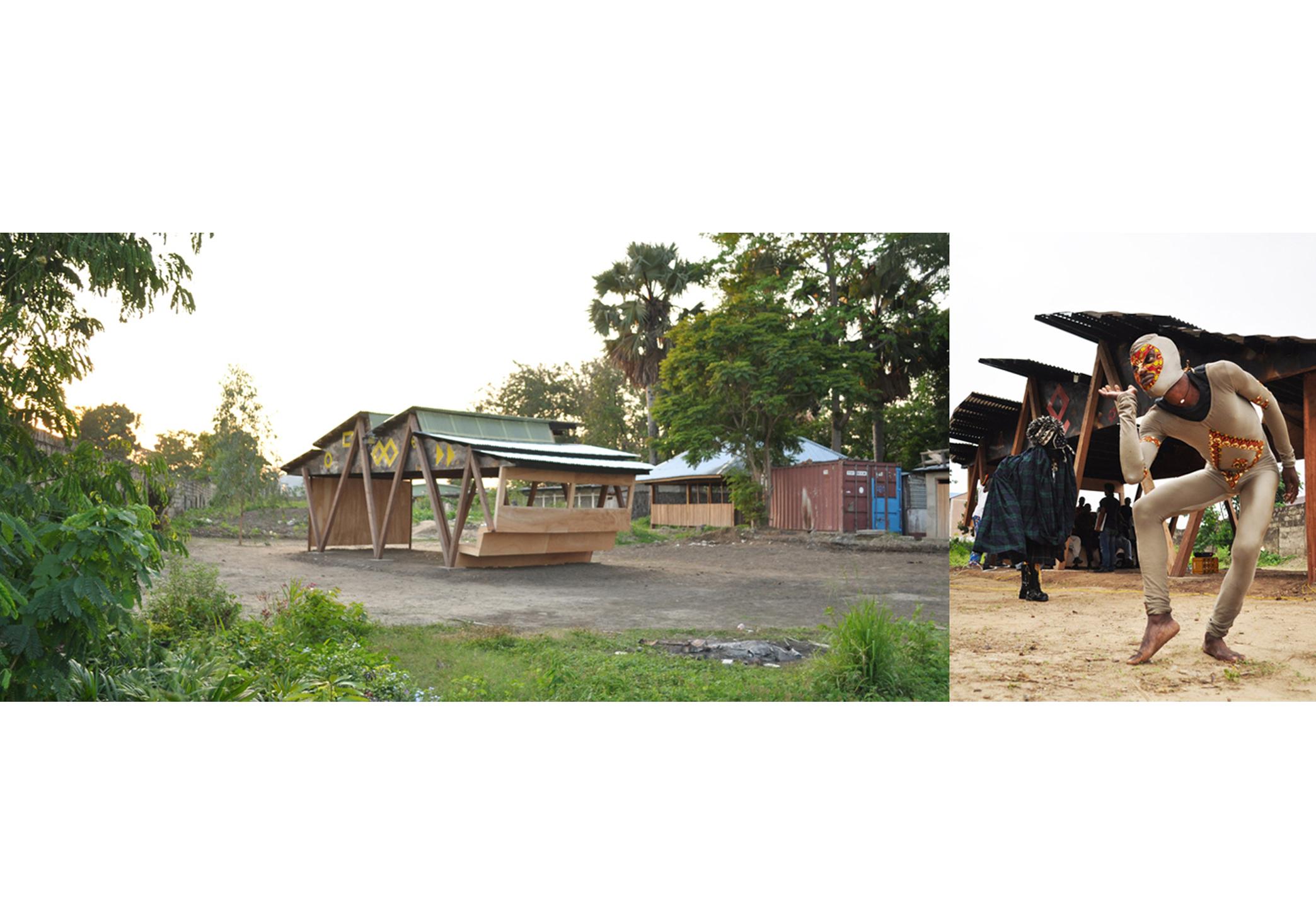 Bidontopia Pavillion 2013 Kinshasa